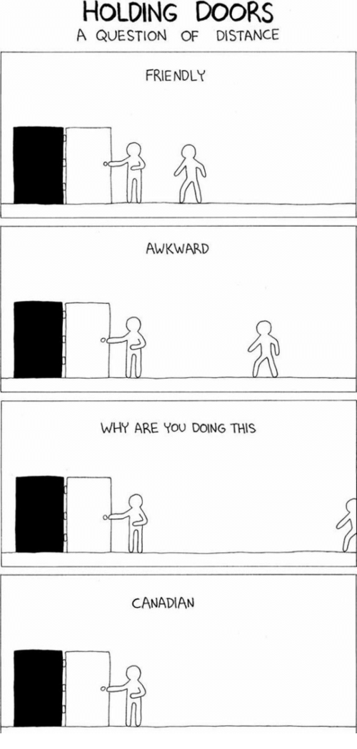 Awkward Canadian and Doors HOLDING DOORS A QUESTION OF DISTANCE FRIENDLY AWKWARD WHY  sc 1 st  Me.me & HOLDING DOORS a QUESTION OF DISTANCE FRIENDLY AWKWARD WHY ARE YOU ...
