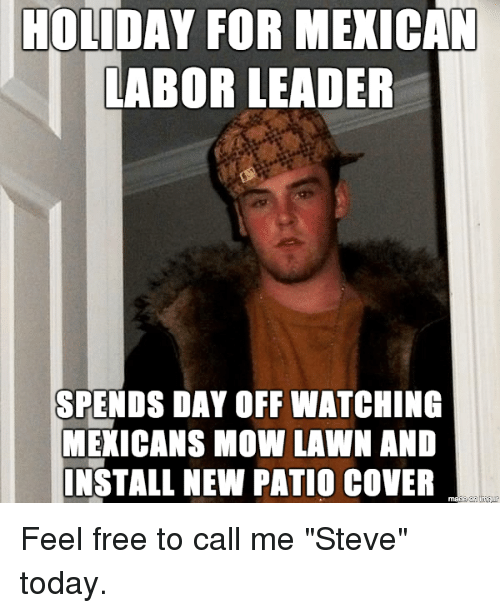 Holiday For Mexican Labor Leader Spends Day Off Watching Mexicans