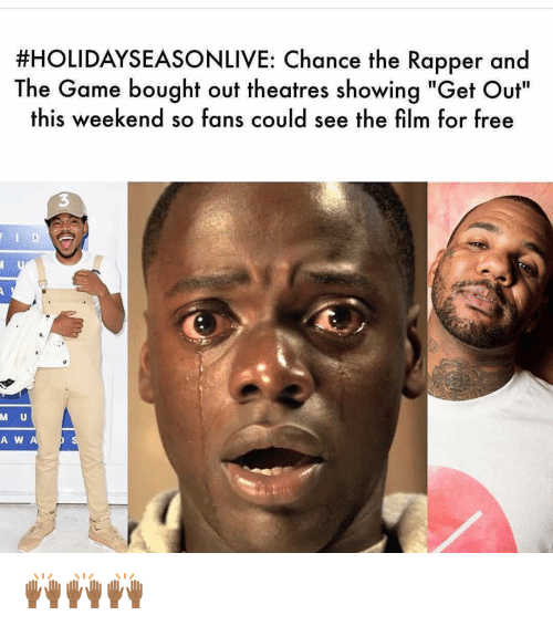 Holidayseason Live Ance The Rapper And The Game Bought Out Theatres
