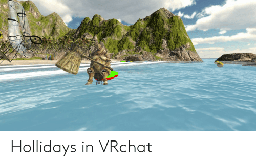 Hollidays in VRchat | Vrchat Meme on ME ME