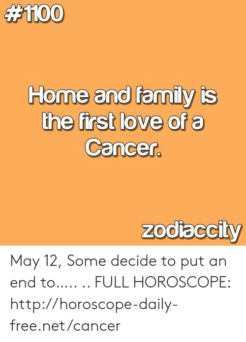 horoscopes home and family