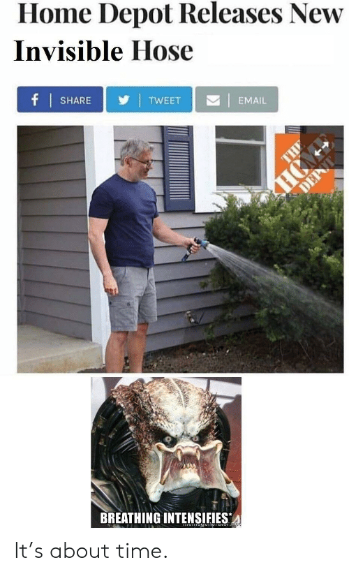 Home Depot Releases New Invisible Hose | TW EET | EMAIL