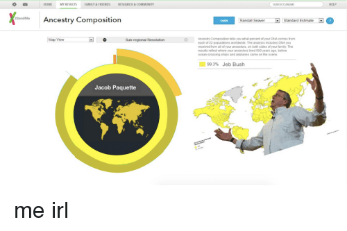 HOME MY RESULTS FAMILY&FRIENDS RESEARCH&COMMUNITY SEARCH 23ANDME