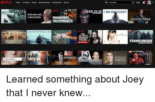 Home TV Shows Movies Recently Added Coming Soon My List True Crime
