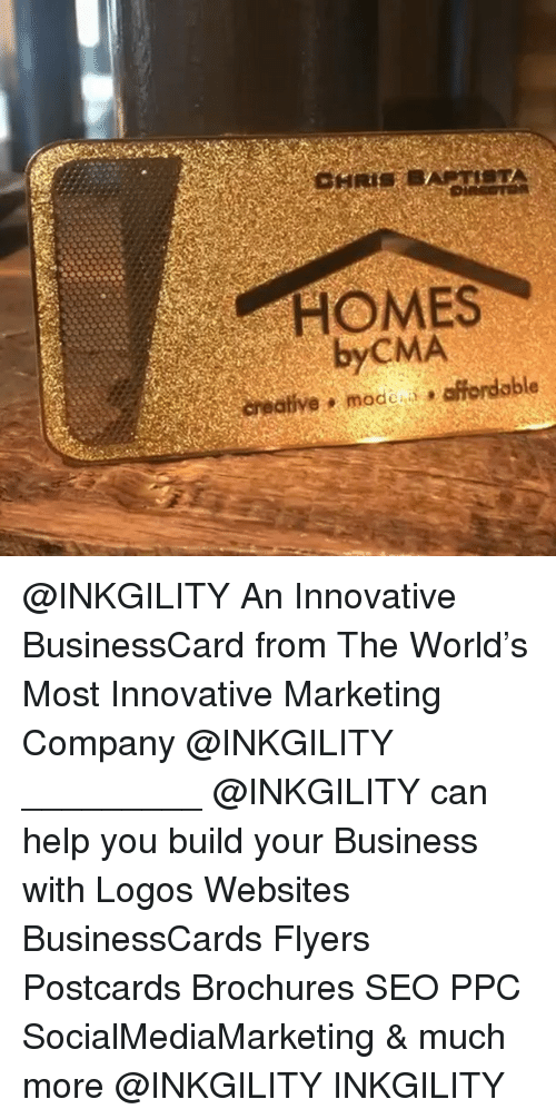 HOMES byCMA Creative Mode Affordable an Innovative BusinessCard From ...