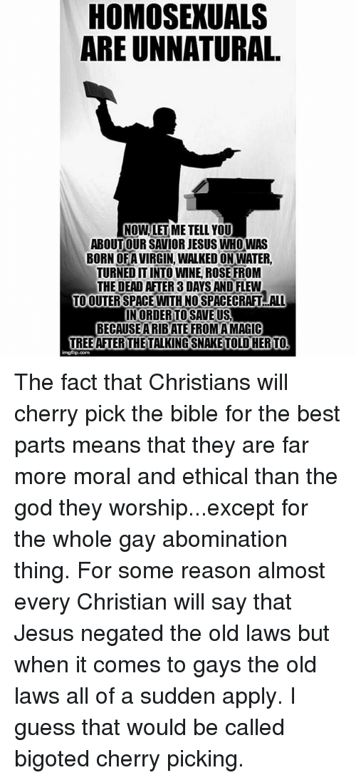 Letusreason homosexuality in christianity