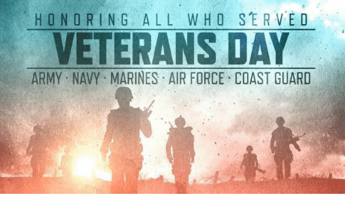 HONOR IN G ALL WHO SERVED VETERANS DAY ARMY NAVY MARINES ...