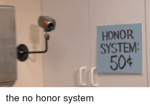 Funny, System, and Honor: HONOR  SYSTEM  50%