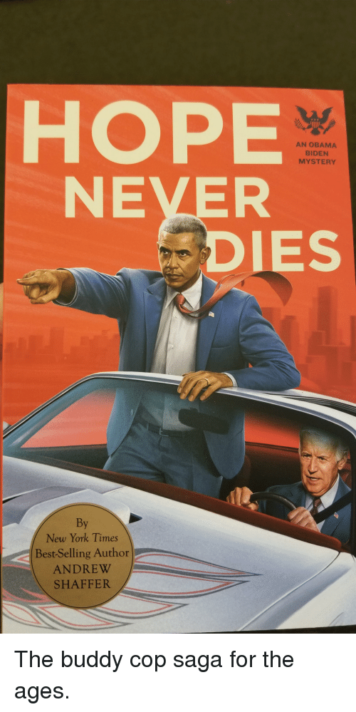 New York, Obama, and Politics: HOPE  NEVER  AN OBAMA  BIDEN  MYSTERY  IES  By  New York Times  Best-Selling Author  ANDREW  SHAFFER The buddy cop saga for the ages.
