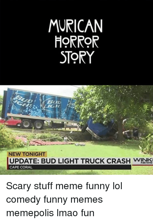 Horror Story New Tonight Update Bud Light Truck Crash Wink Cape
