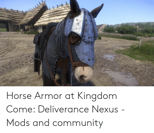 Horse Armor at Kingdom Come Deliverance Nexus - Mods and Community