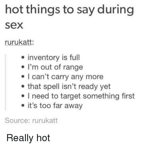 Funny things to do during sex