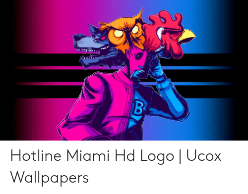 Hotline Miami Hd Logo Ucox Wallpapers Wallpapers Meme On