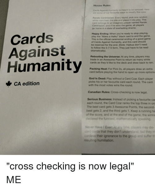 Cards Against Different To Ways Humanity Play
