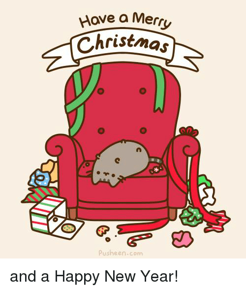 Memes, 🤖, And Pusheen: Hove A Merry Christmas Pusheen.com And A