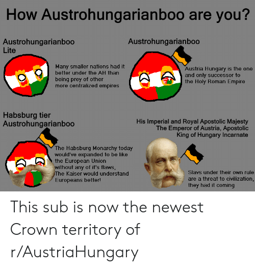 How Austrohungarianboo Are You? Austrohungarianboo