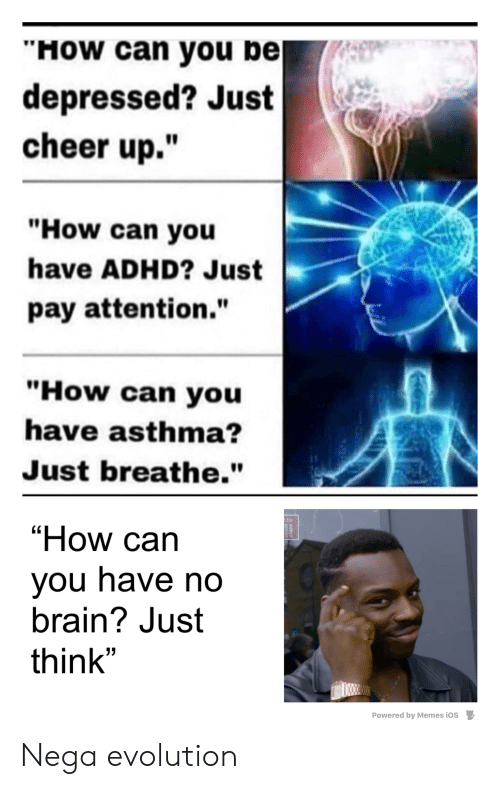 How Can You Pe Depressed? Just Cheer Up How Can You Have
