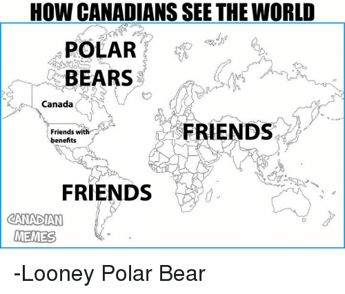 Best Memes About Canadian Memes Canadian Memes - Map of us added to canada meme