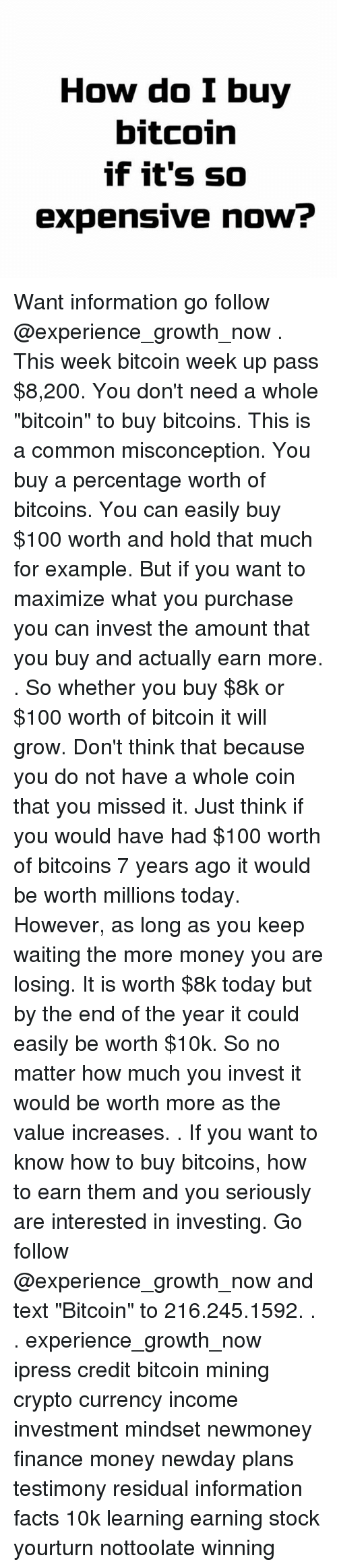 If you invest 100 in bitcoin in 2020