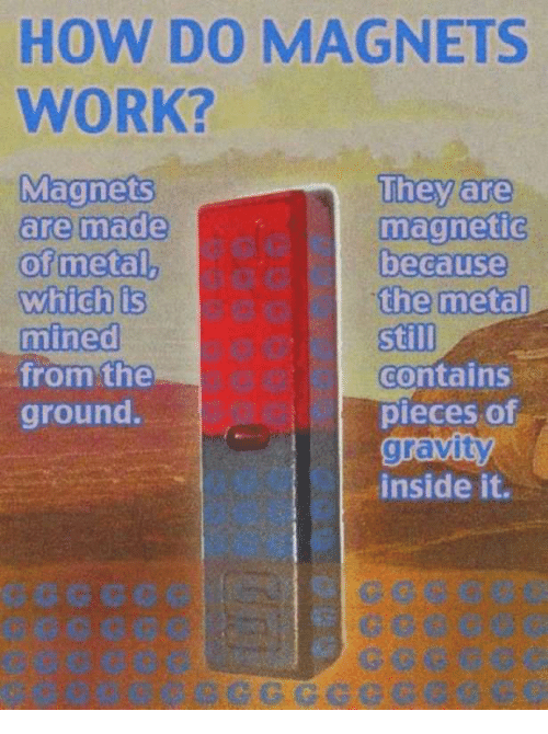 how do magnets work magnets they are are made magnetic of metal