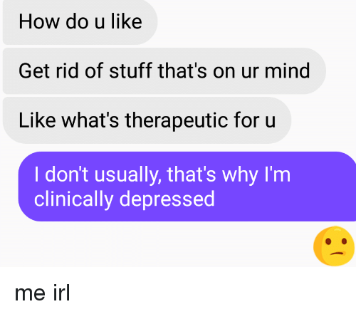 what to do to get rid of depression