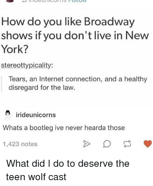 How Do You Like Broadway Shows if You Don't Live in New York