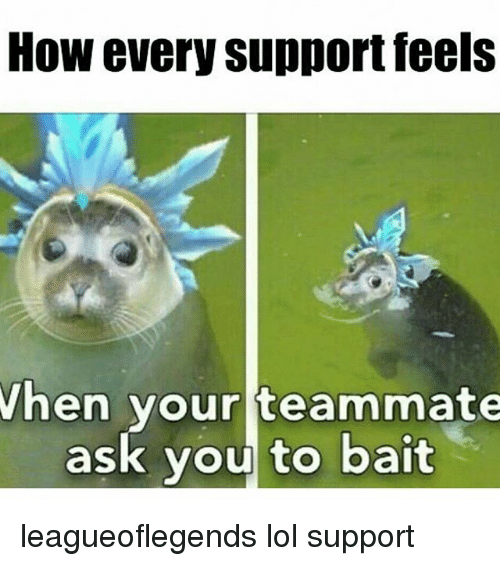 how to play support lol
