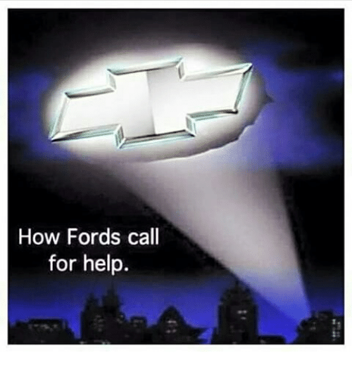 Memes, Help, and 🤖: How Fords call  for help.