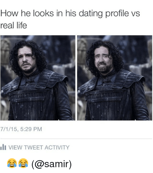 Dating online vs real life
