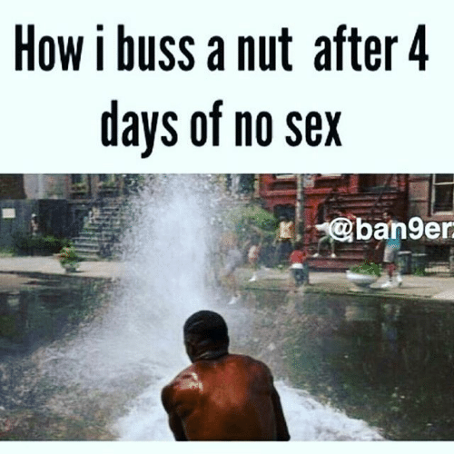 No sex in 4 years