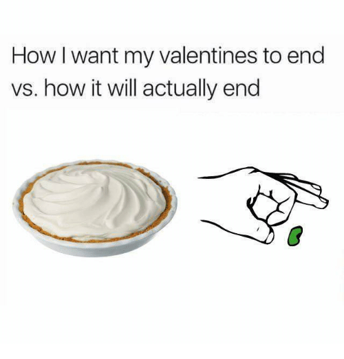 How, Will, and Valentines: How I want my valentines to end  vs. how it will actually end