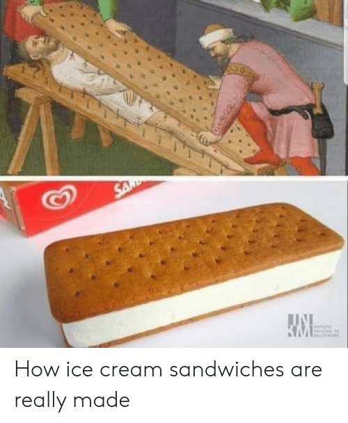 Ice Cream, How, and Cream: How ice cream sandwiches are really made