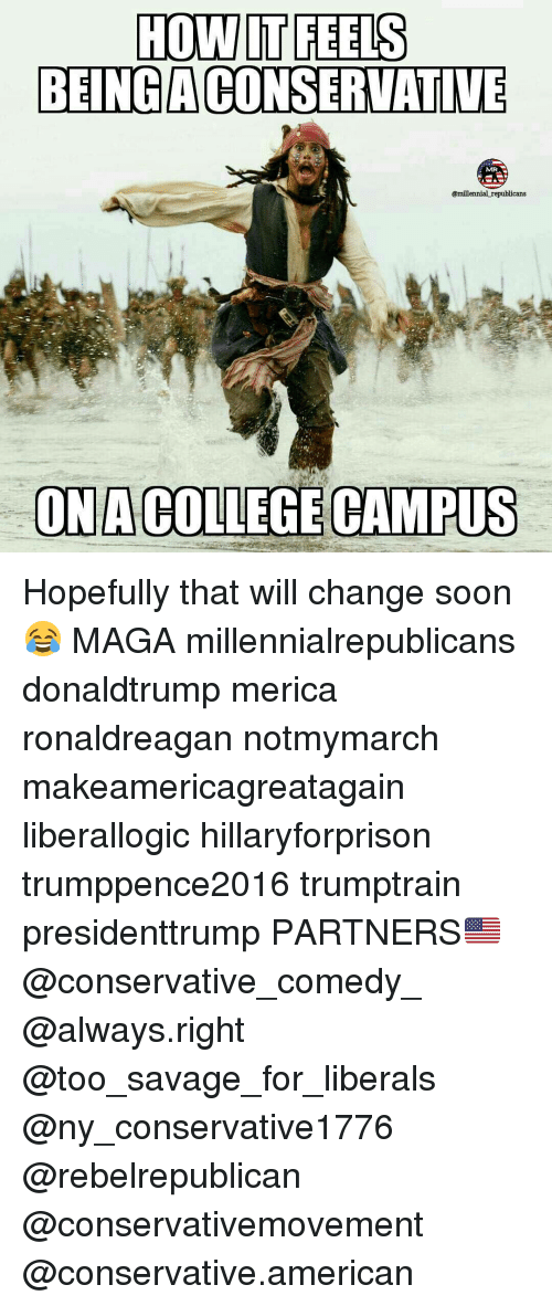how it feels being aconservative millennial republicans ona college campus 13341251 ✅ 25 best memes about millennials millennials memes