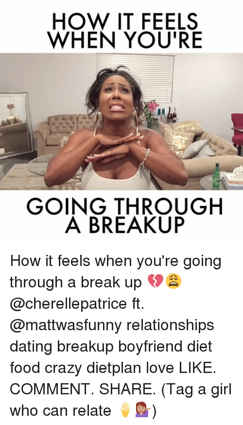 how to break it off with a girl your dating