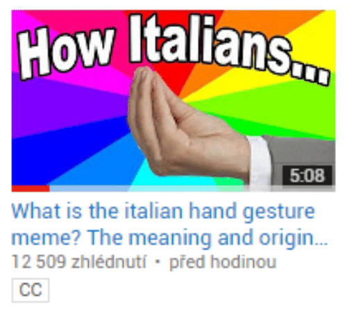 how italians 5 08 what is the italian hand gesture meme 17482513 how italians 508 what is the italian hand gesture meme? the
