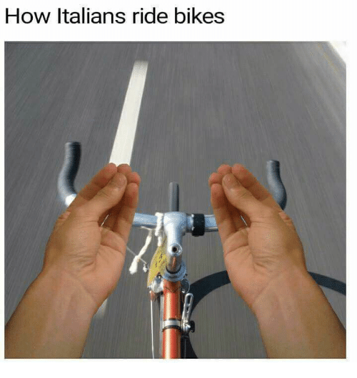 How, Italians, and  Bikes: How Italians ride bikes