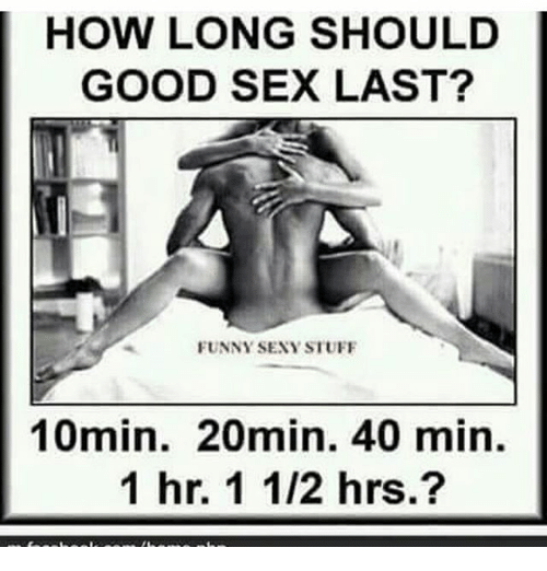 Can sex last to long