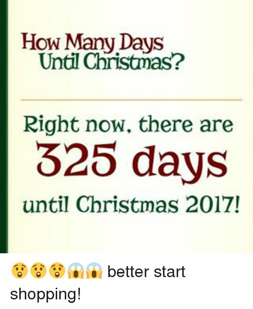 Memes, 🤖, and Days Until: How Many Days Until Christmas? Right now
