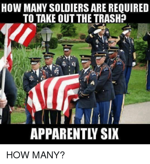 many soldiers