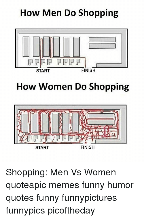 Funny memes about men vs women