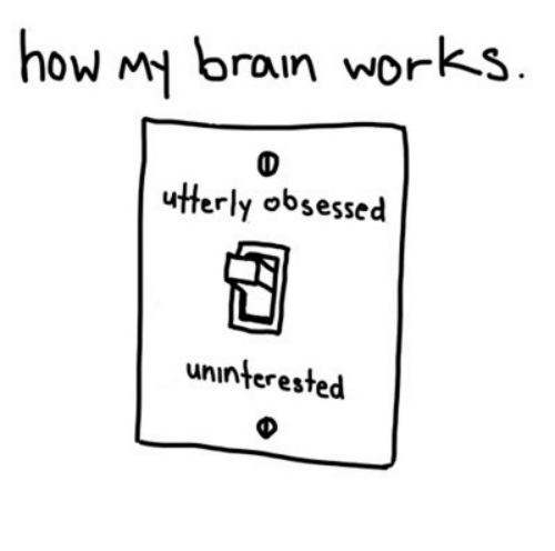 Image result for uninterested obsessed
