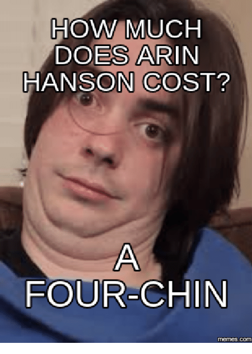 how much does arin hanson cost four in memes com 13999208 how much does arin hanson cost? four in memescom arin hanson