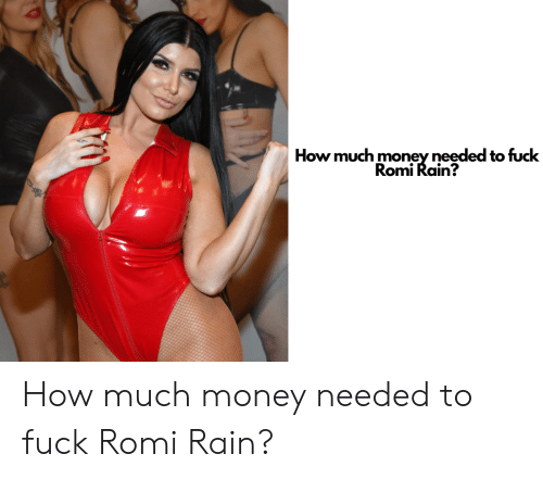 Comply with this guy romi rain