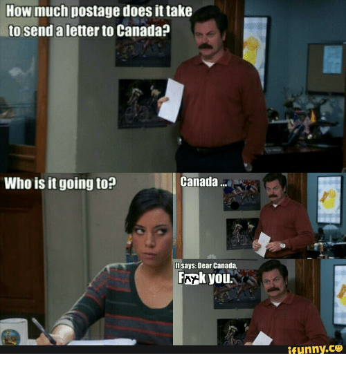 How Much Postage Does It Take to Send a Letter to Canada? Canada