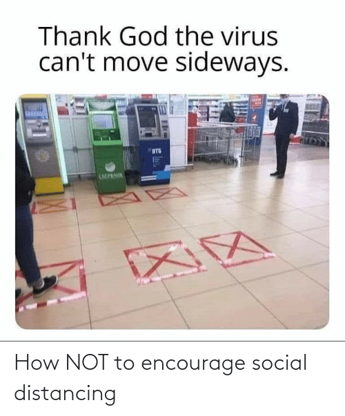 Reddit, How, and Social: How NOT to encourage social distancing