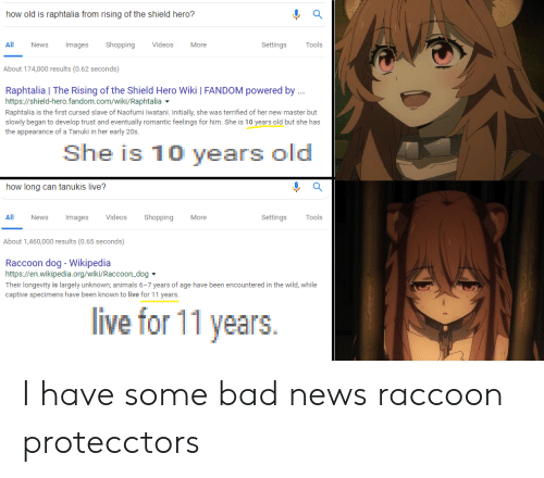 News Videos Images Websites Wiki: How Old Is Raphtalia From Rising Of The Shield Hero? All