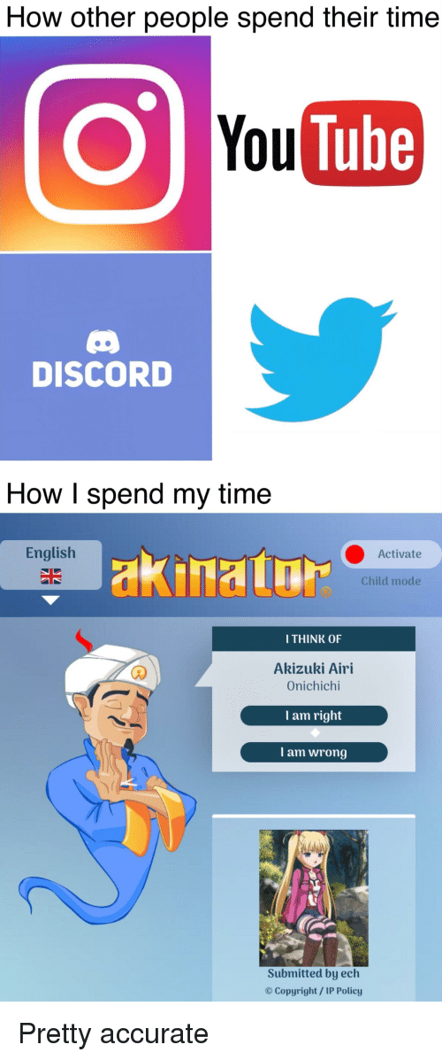 Anime, Time, and Tube: How other people spend their time O You Tube
