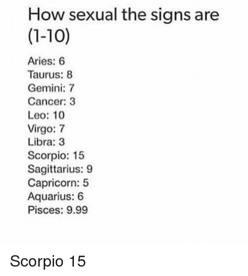 Pisces and scorpio sex sense