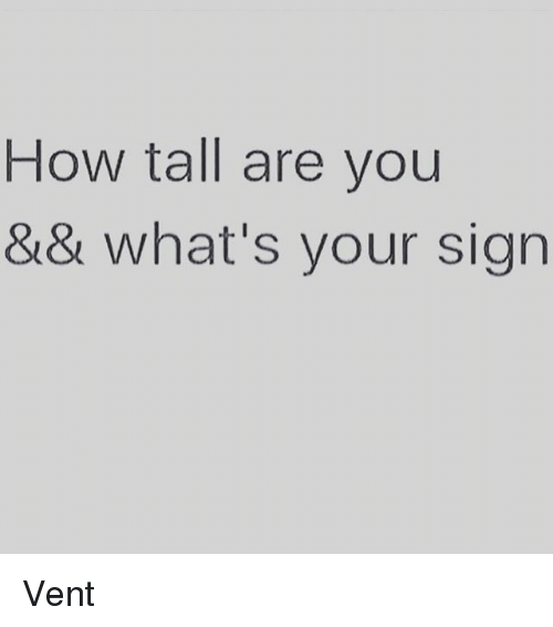 what's your sign - 500×566