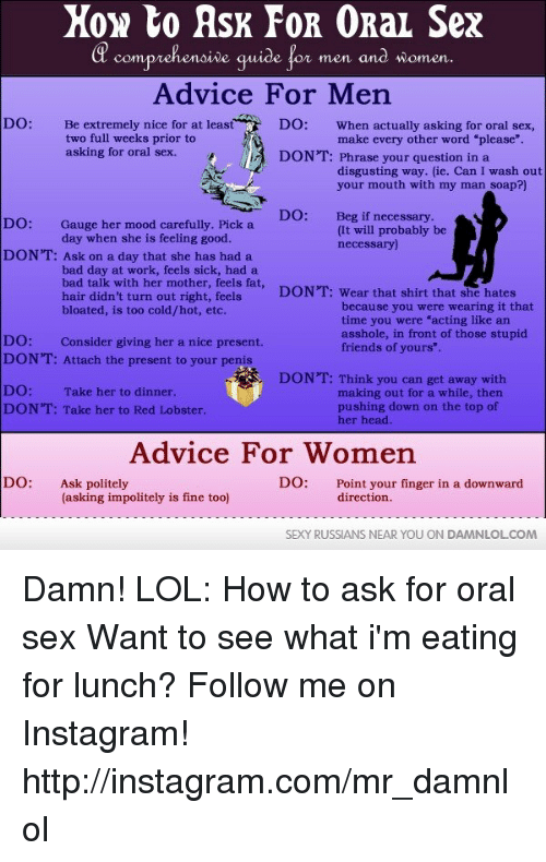 how to ask mother for sex
